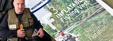 F3 Inflatable Fishing Vest