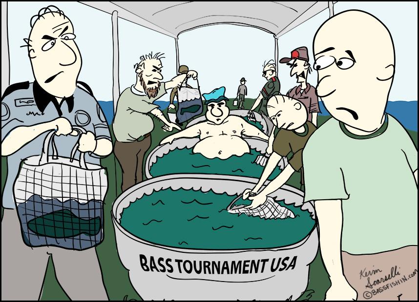 Fishing Cartoon