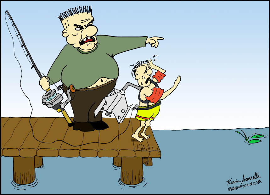 Funny cartoon fishing - photo#27
