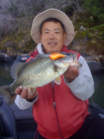 Clear lake fishing report for California bass fishing