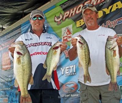 Logan martin abt tournament fishing report for Alabama bass fishing reports