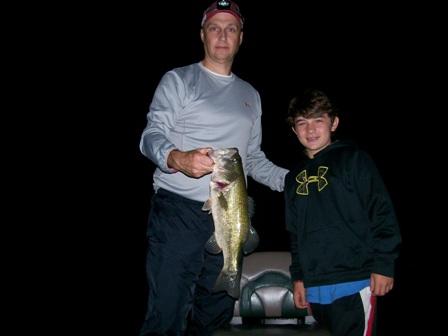 Guntersville lake night fishing report for Alabama bass fishing reports