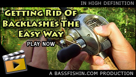 Baitcaster Backlash Thumb Trick