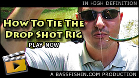 How To Rig The Drop Shot