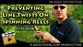 Spinning Reel Twists