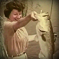 Awesome Vintage Fishing Tackle Videos and Commercials